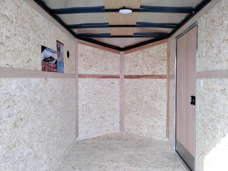 2021 Cargo Express 6X10 Enclosed Ramp Door SA Trailer