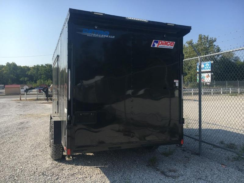 SIDE ESCAPE DOOR! -- 2021 Pace American 7.5X16 Enclosed Ramp Door Trailer