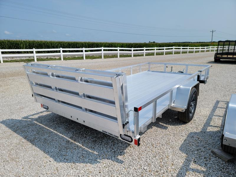 2021 Sure-Trac 7x14 Aluminum Tube Top Utility 3K Idler