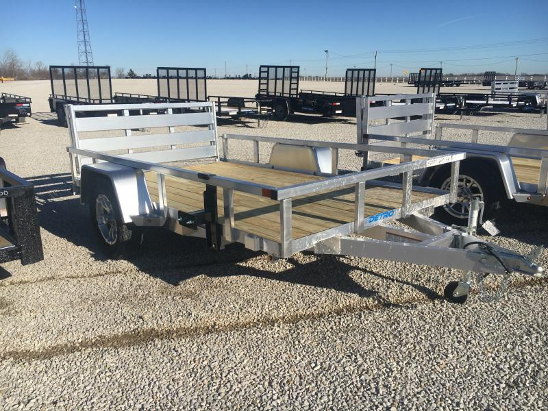 2021 Sure-Trac 6x10 Aluminum Tube Top 3K Utility Trailer
