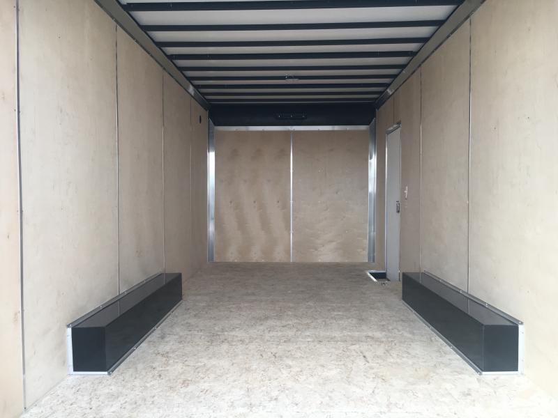 2021 Sure-Trac 8.5x20 Contractor Pro Enclosed Ramp Door Trailer