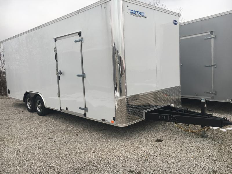 2020 United Trailers 8.5X24 10K Enclosed Car/Racing Trailer