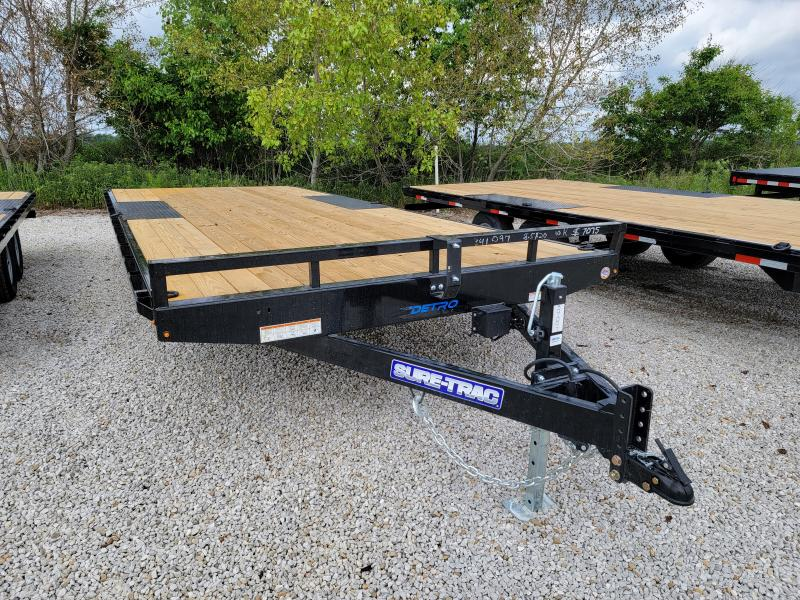 2021 Sure-Trac 8.5x20 Low Profile Flat Deck Deckover