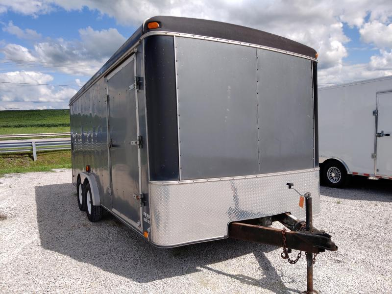 2001 United Trailers 8X18 Enclosed Ramp Door Trailer