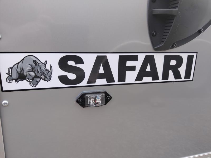 2020 Rhino Safari 7x16 Enclosed Ramp Door Trailer