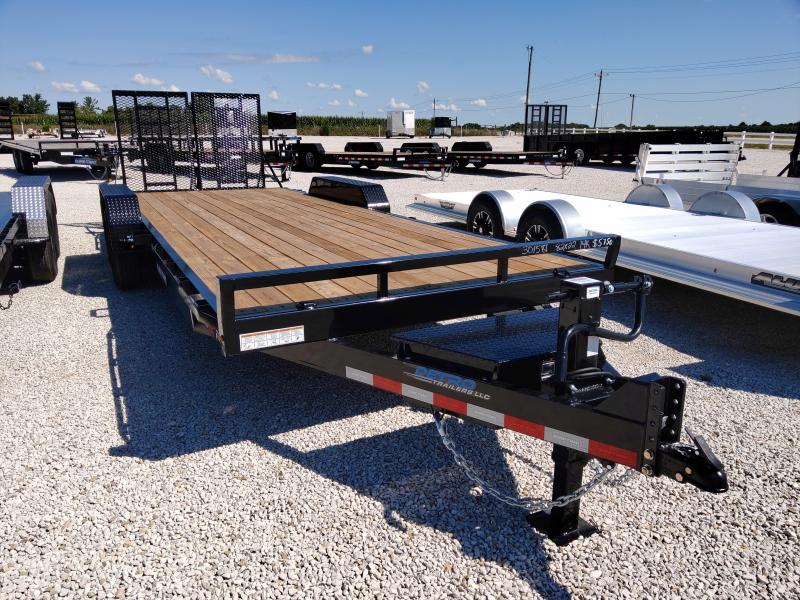 2021 Sure-Trac 7x22 14K Equipment Trailer w/ tool box