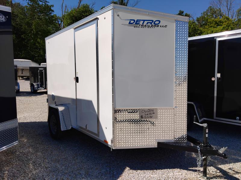 2021 Cargo Express 6X10 Enclosed DRD SA Trailer