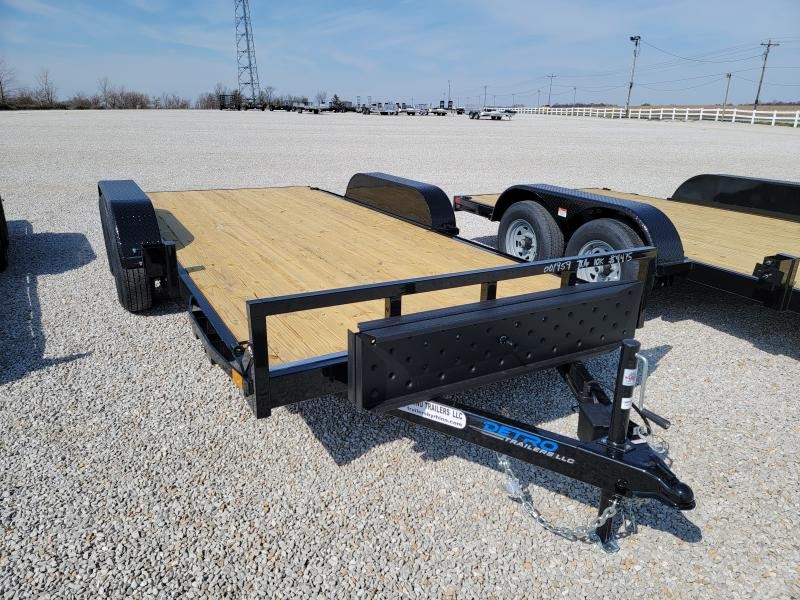 2021 Rhino Trailers 7X16 10K Open Car Hauler