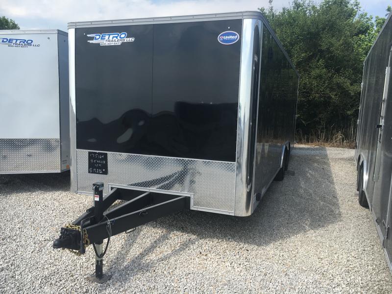 2022 United 8.5x24 10K Enclosed Car/Racing Trailer