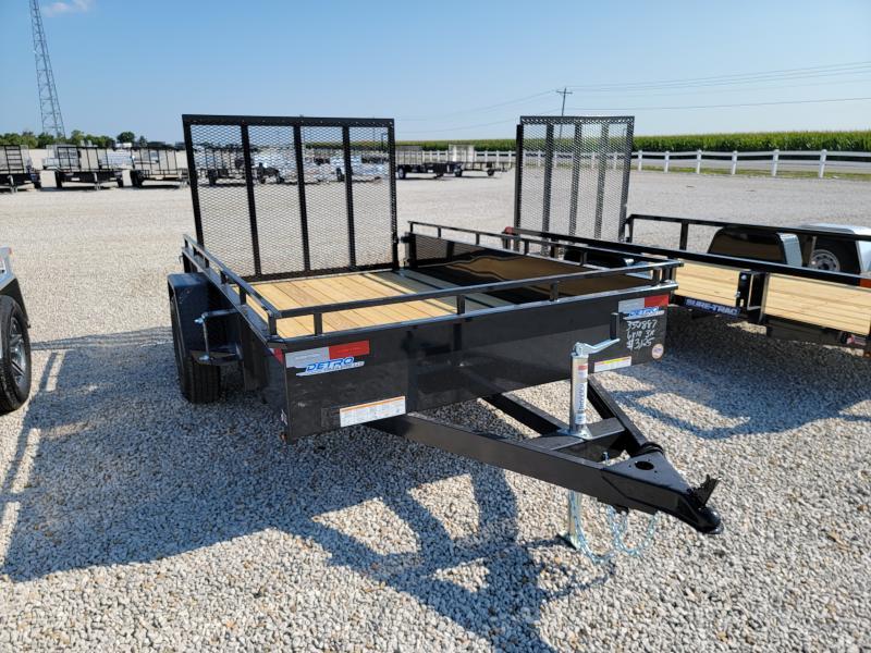 2021 Sure-Trac 6x10 Steel High Side 3K Idler Trailer