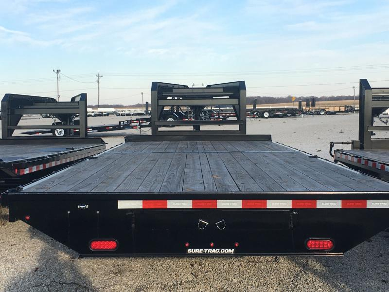 2019 Sure-Trac 8.5X22 Standard Duty Flatbed GN Deckover NO RAMPS