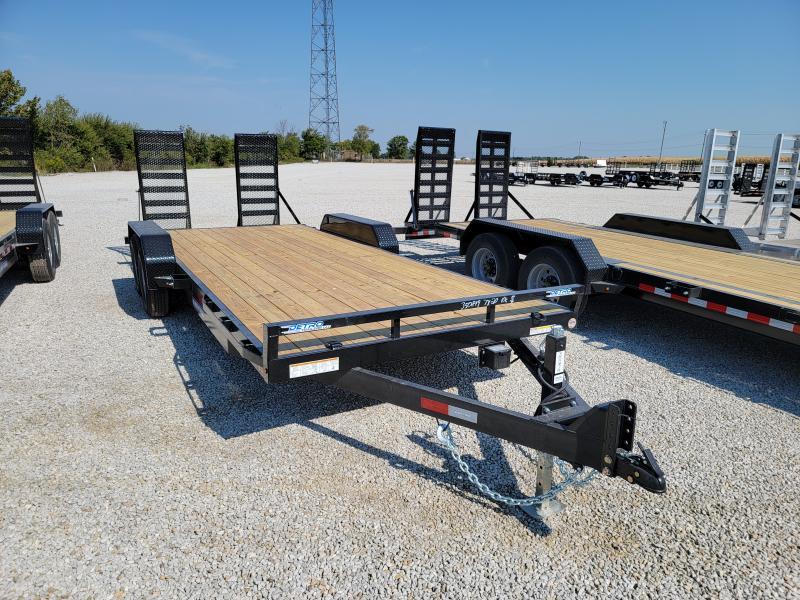 2022 Sure-Trac 7x20(18+2) 10K Equipment Trailer