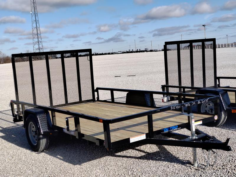 2021 Sure-Trac 7x12 Tube Top Utility Trailer 3K Idler