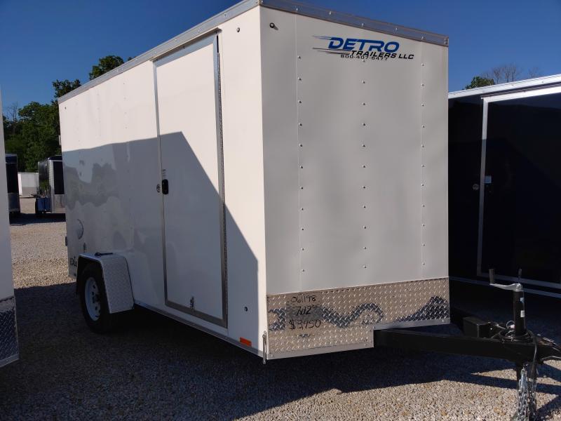 2021 Cargo Express 7X12 Enclosed DRD SA Trailer