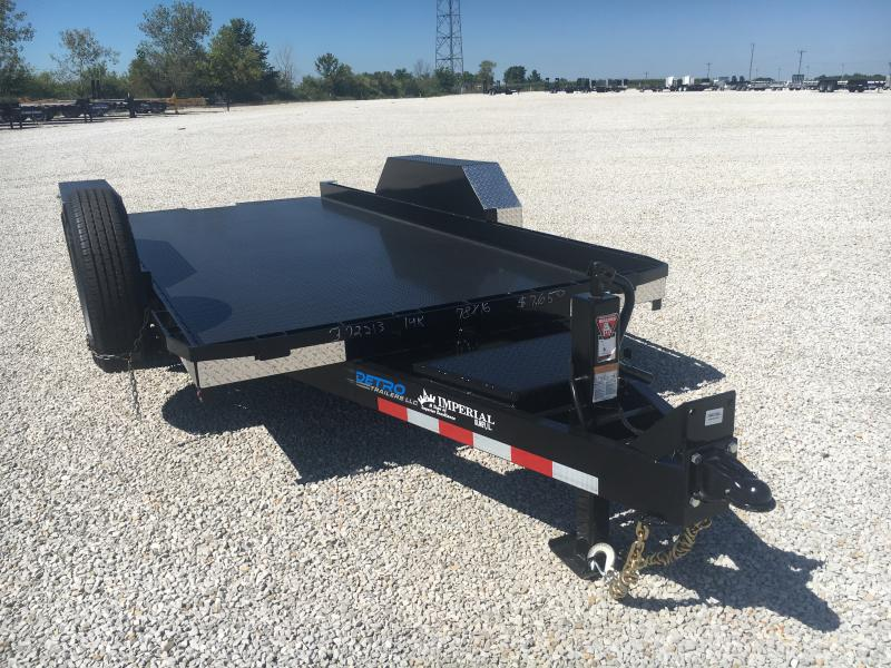 PENDING SALE - 2020 Imperial 16' Lowboy Tilt 14K Equipment Trailer