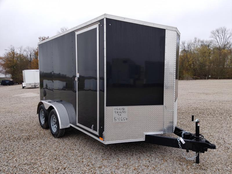 2021 Cargo Express 7x12 Enclosed Double Rear Door Trailer