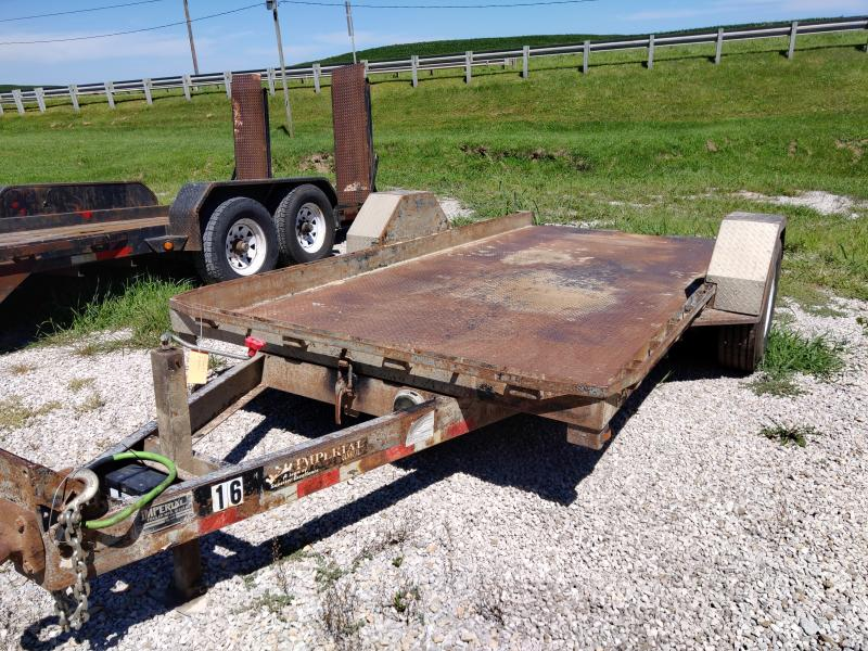 2007 Imperial 78x14' TILT Equipment Trailer