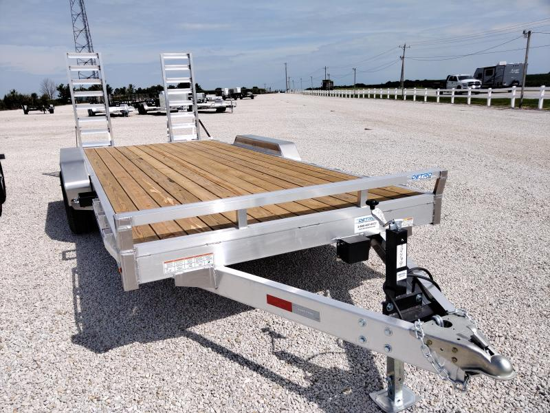 2021 Sure-Trac Aluminum 82x16+2 Equipment 10K Trailer