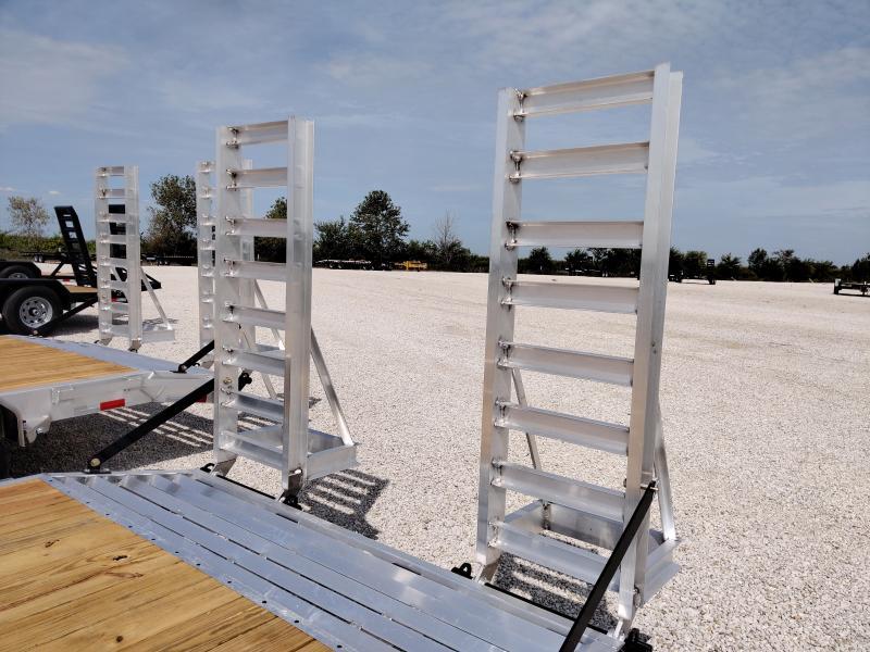 2021 Sure-Trac Aluminum 82x16+2 Equipment 10K Trailer