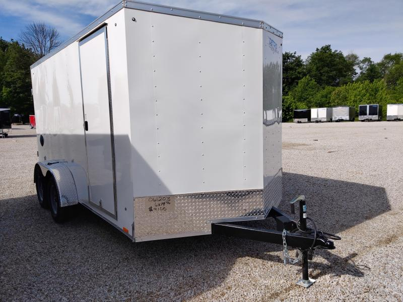 2021 Cargo Express 78X14 Enclosed DRD TA Trailer