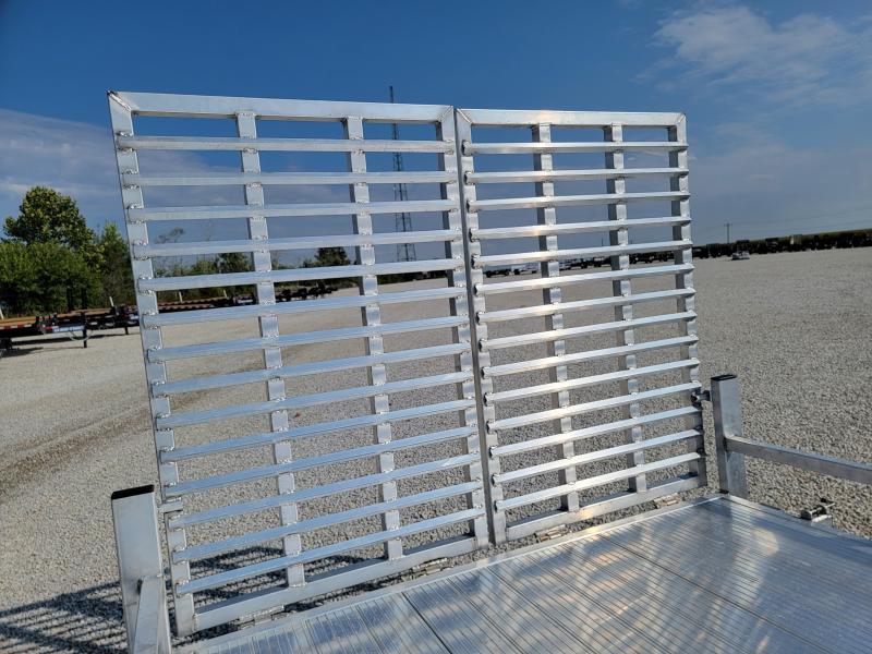 2022 Black Rhino 7x14 7K All Aluminum Utility Trailer