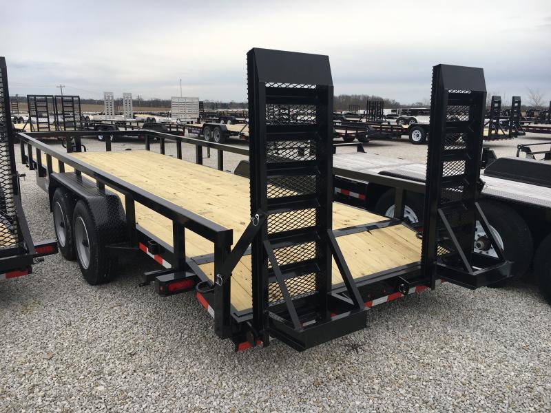 PENDING SALE -- 2019 Sure-Trac 7x22 16K Heavy Duty Equipment Trailer