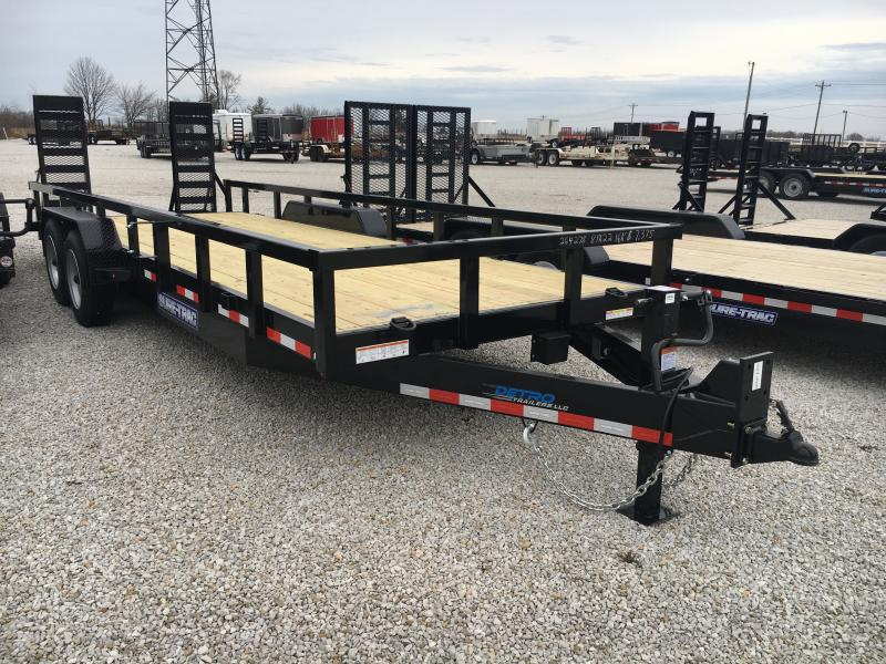 2019 Sure-Trac 7x22 16K Heavy Duty Equipment Trailer