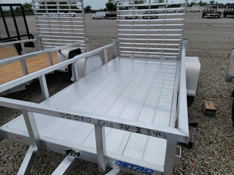 2021 Black Rhino Aluminum Deck 5x10 Utility Trailer