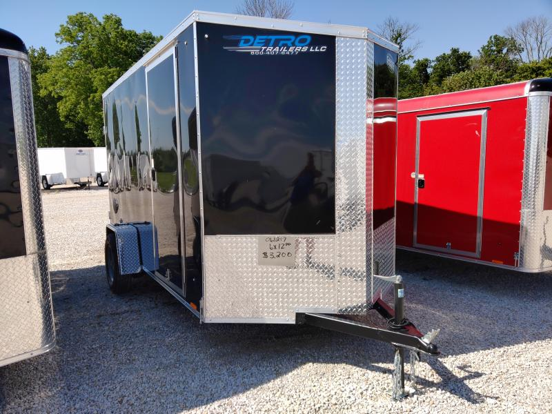 2021 Cargo Express 6X12 Enclosed DRD SA Trailer