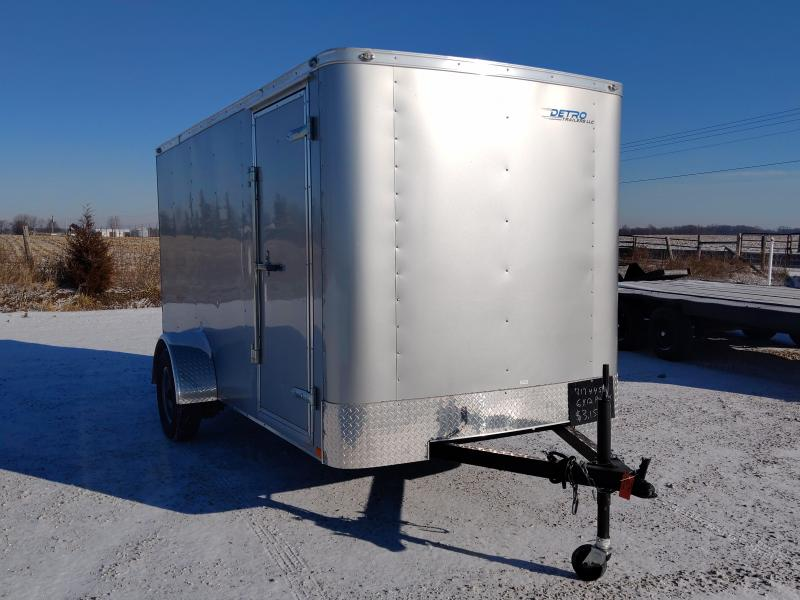 2020 Continental Cargo 6x12 Ramp Door Enclosed Trailer