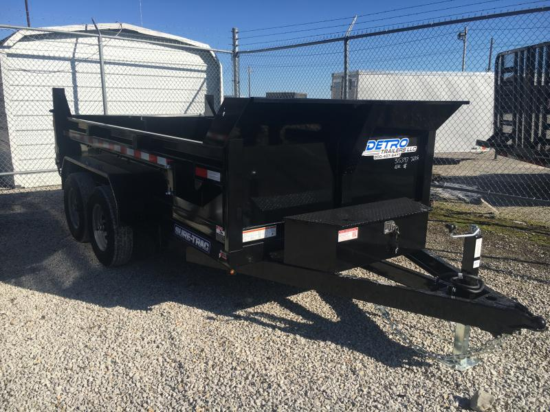 2021 Sure-Trac 6x12 SD Low Profile Dump Trailer 10K