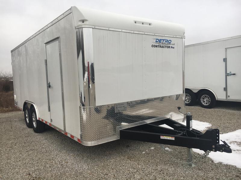 2020 Sure-Trac 8.5x20 Contractor Pro BN Enclosed TA 14K DRD Trailer