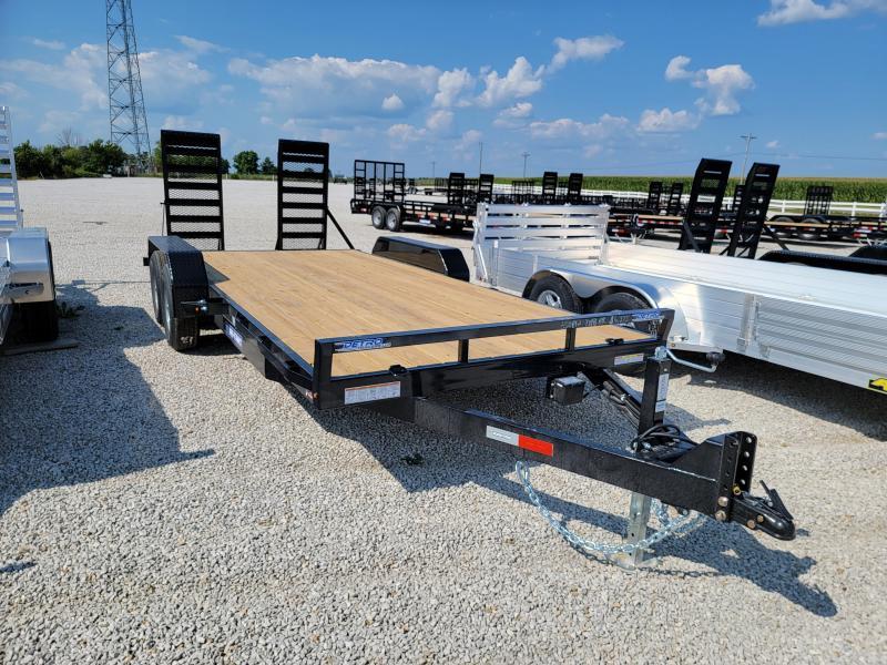 2021 Sure-Trac 7x18(16+2) 10K Equipment Trailer