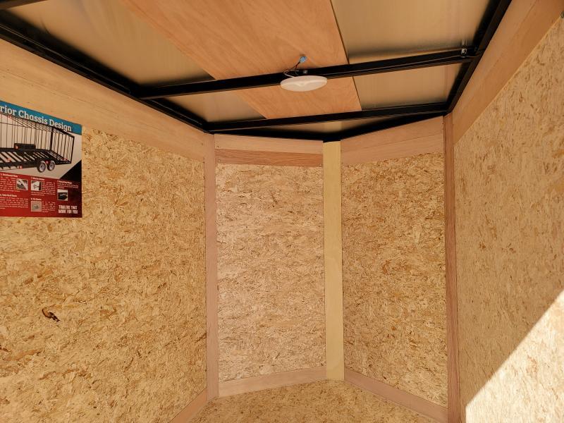 2022 Cargo Express 4x6 Enclosed Swing Door Trailer