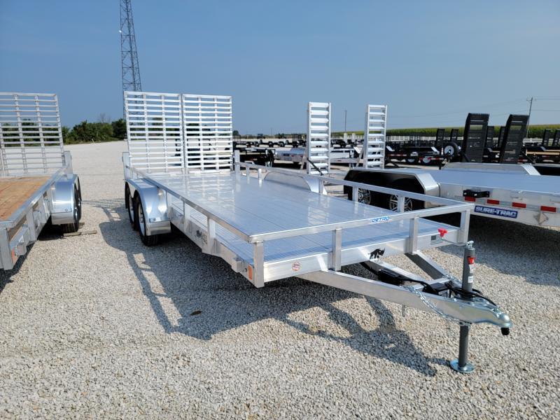 2022 Black Rhino 7X18 7K All Aluminum Utility Trailer
