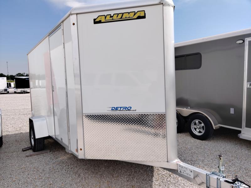 2021 Aluma 6X12 Enclosed Aluminum SA Ramp Door Trailer