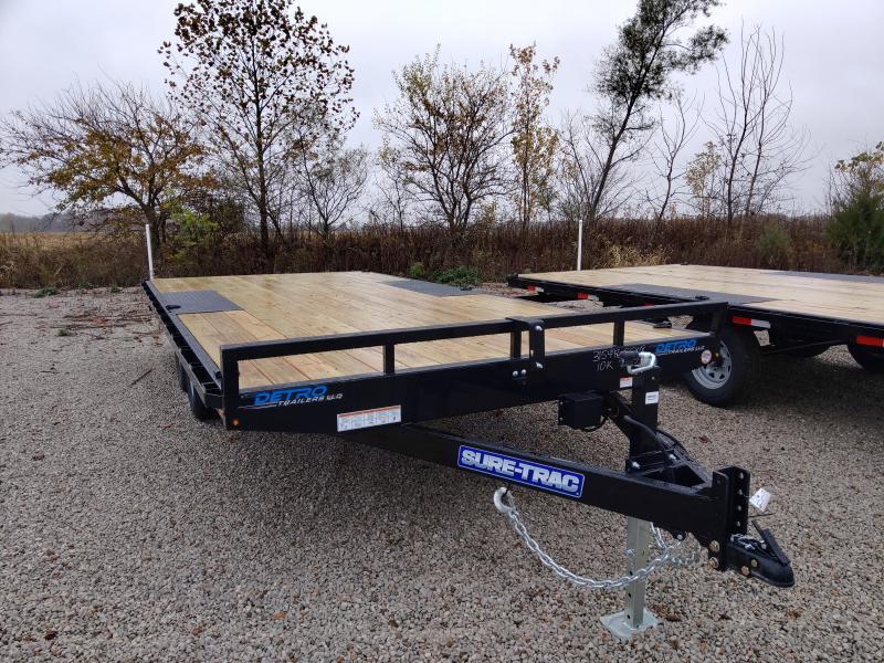 2021 Sure-Trac 8.5x18 Low Profile Flat Deck 10K Deckover