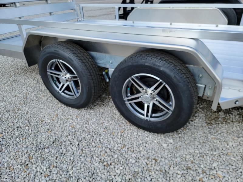 2021 Sure-Trac 7x16 Aluminum Tube Top  7K Tandem Trailer