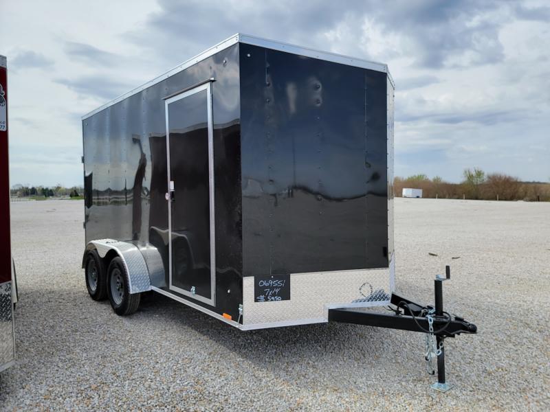 2022 Cargo Express 7X14 Rear Ramp Door Enclosed Cargo Trailer