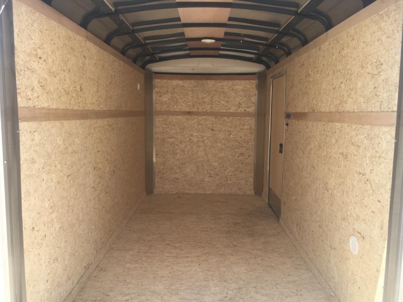 2019 Cargo Express 6X12 Enclosed Ramp Door Trailer