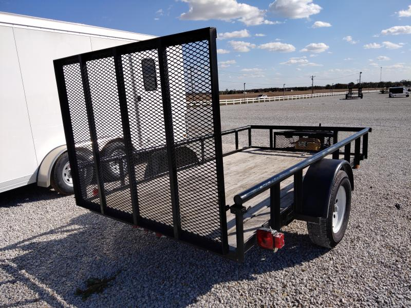 2016 Carry-On 5.5X10 Utility Trailer w/ ATV Winch