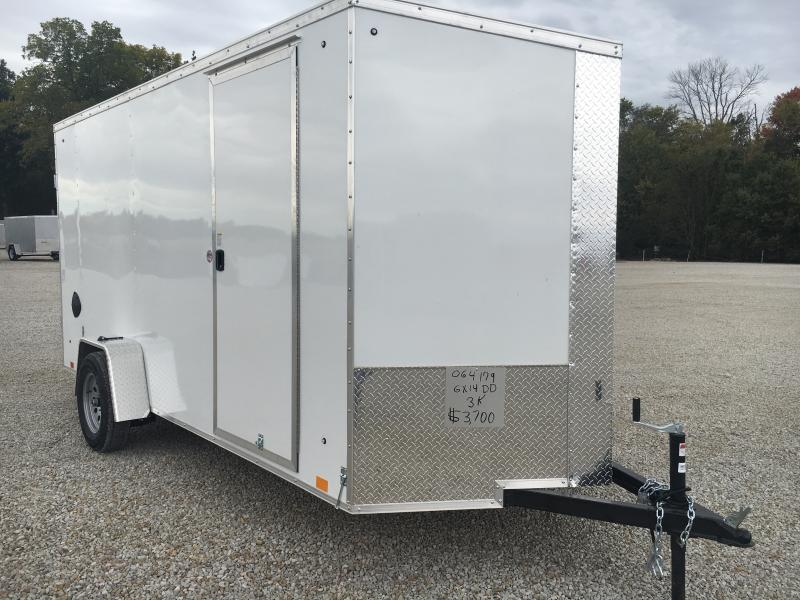 2021 Cargo Express 6X10 Enclosed DRD Trailer