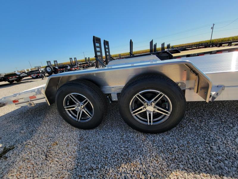 2021 Sure-Trac 7x18(14+4) C-Channel 7K Aluminum Car Hauler
