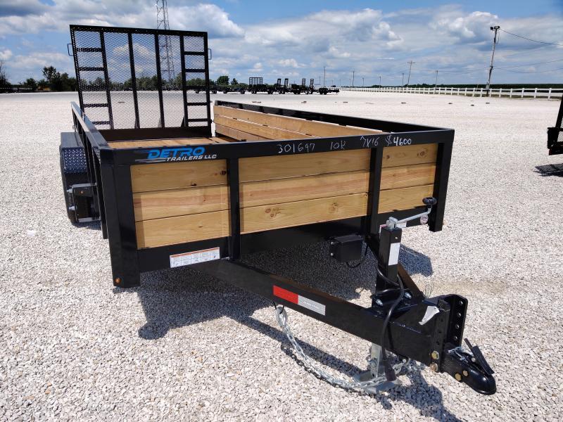 2021 Sure-Trac 7X16 3 BOARD HIGH SIDE 10K Utility Trailer