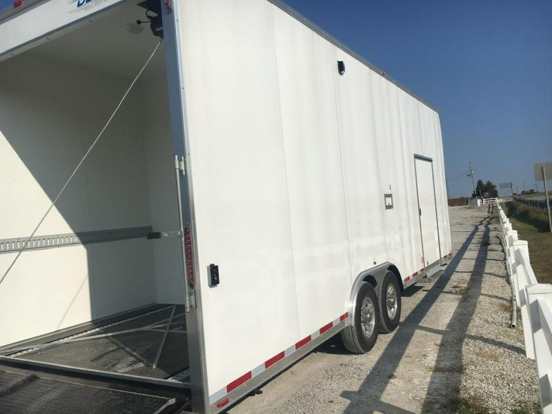 AIR/HEAT/GENERATOR -- 2014 Vintage Trailers 8.5x26 Enclosed Powered Ramp Door 12K Trailer