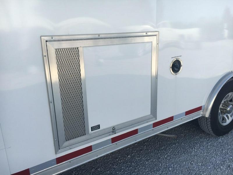 UNIQUE TRAILER -- 2014 Vintage Trailers 8.5X26 Enclosed Powered Ramp Door Trailer