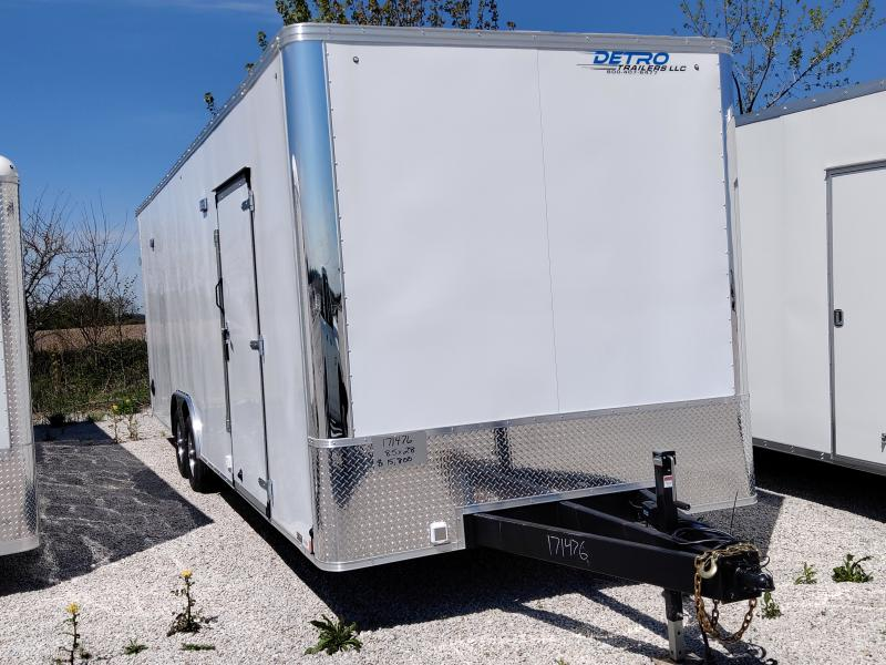 2020 United Trailers 8.5X28 10K Car/Racing Enclosed Trailer
