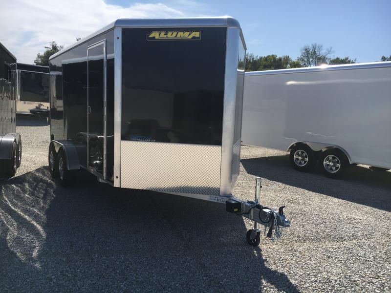 2020 Aluma 7X14 Enclosed TA Ramp Door Trailer