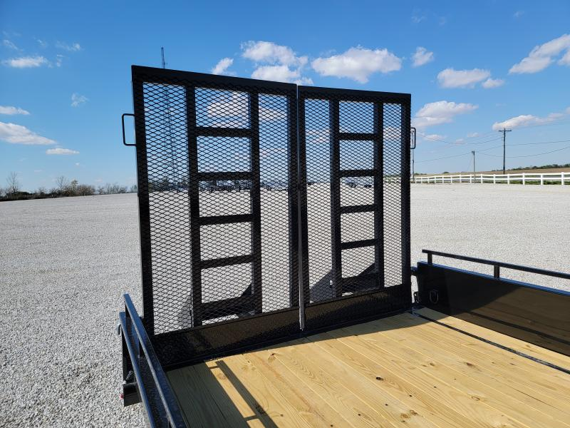 2021 Sure-Trac 7x16 10K Steel High Side Trailer