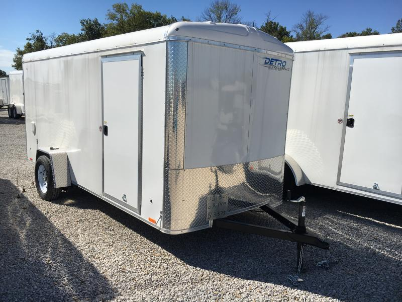 2019 Cargo Express 6x14 DRD SA Enclosed Trailer